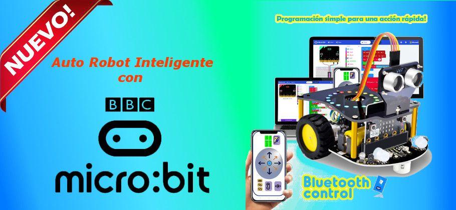 Slider Auto Robot Microbit